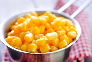 le maïs sucré photo
