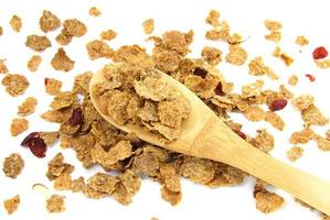 flocons de maïs à grains entiers photo