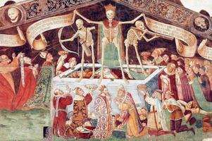 clusone, fresque
