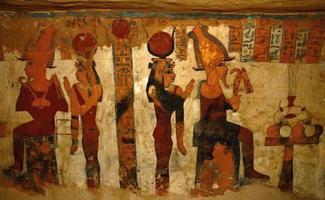 fresque de la tombe photo