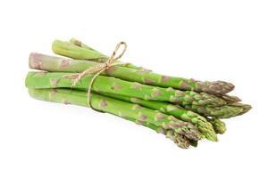 paquet d'asperges vertes photo