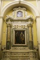 fresque dans la nef latérale, ugento, lecce photo
