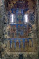 fresque à l'intérieur du monastère d'akhtala