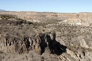formations rocheuses au nouveau mexique