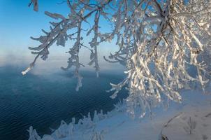 hiver rivière photo