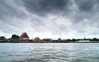 rivière côté temple. photo