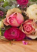 bouquet de roses. photo