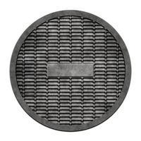 couvercle en métal d'égout (série trou d'homme) photo