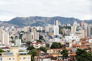 belo horizonte city, état de minas gerais, brésil photo