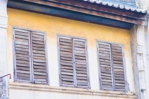 vieux bâtiments dans le style portugais sino photo