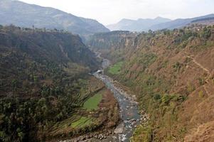 gorge de la rivière modi photo