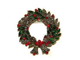 épingle de couronne de Noël photo
