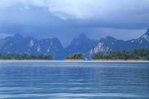 Province de Surat Thani, Thaïlande. photo