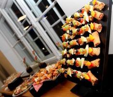 nourriture sur une table photo