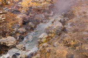 zone géothermique de krysuvik photo