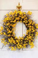 couronne de printemps photo
