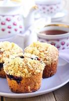 muffins aux petits fruits