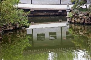 jardin de l'humble administrateur réflexion suzhou chine photo