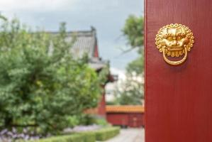 Heurtoir de porte chinois ancien photo