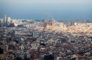 vue sur barcelone photo