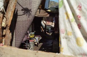 bidonvilles, guadalajara, mexique photo