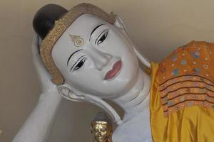 Bouddha couché photo