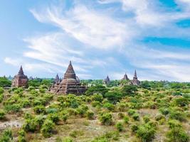 Pagode à Bagan (païen), Mandalay, Myanmar