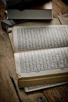 coran - livre sacré des musulmans photo