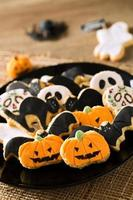 biscuits d'halloween heureux
