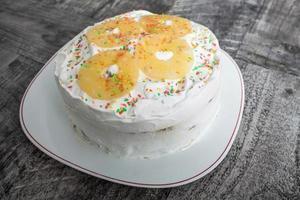 gâteau aux ananas photo