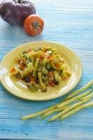 légumes cuits photo