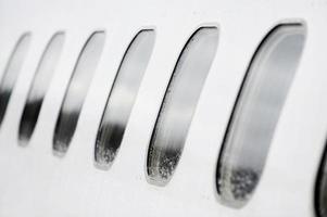 fenêtres d'avion photo