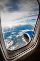 fenêtre d'avion photo