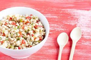 Salade de blé photo
