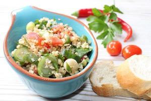 salade de boulgour photo