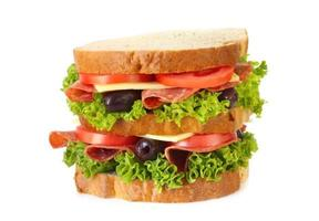 sandwich au salami photo