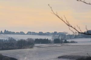 paysage hivernal photo