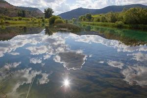 paysage de la alcarria photo