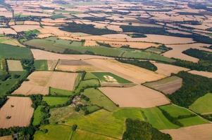 paysage rural ariel