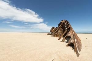 plage el barco à la pedrera uruguay photo