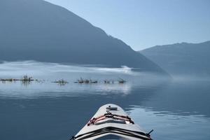 matin sur le lac harrison photo