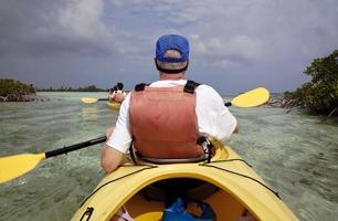 kayak en famille photo