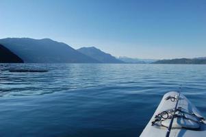 kayak et bûche photo