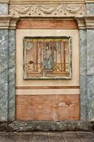fresque murale romaine photo