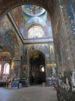 fresques dans le temple photo