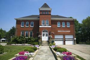hall historique et caserne de pompiers en indépendance photo