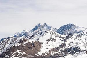 montagnes en hiver