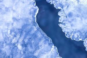 abstrait d'hiver.