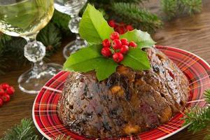 Pudding de Noël photo