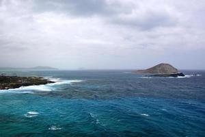 baie de maunalua, oahu, hawaï photo